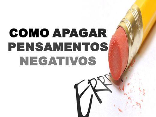 Curso Online de COMO APAGAR PENSAMENTOS NEGATIVOS