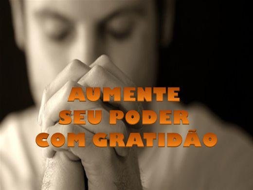 Curso Online de AUMENTE SEU PODER COM GRATIDÃO