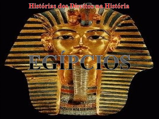 Curso Online de HISTÓRIA ANTIGA DO DIREITO EGÍPCIO