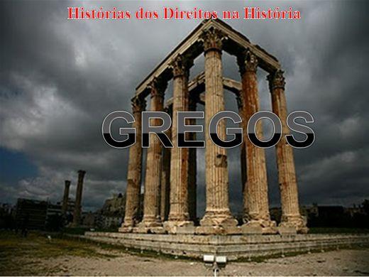 Curso Online de HISTÓRIA ANTIGA DO DIREITO GREGO