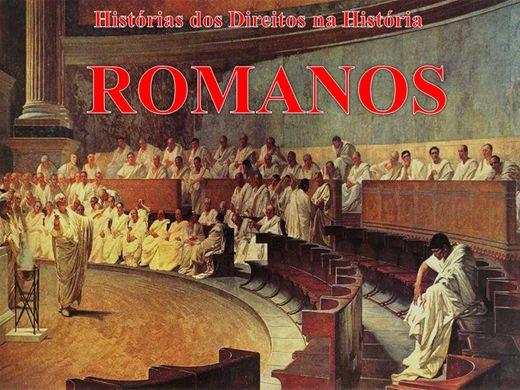 Curso Online de HISTÓRIA ANTIGA DO DIREITO ROMANO