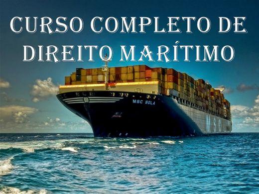 Curso Online de CURSO COMPLETO DE DIREITO MARÍTIMO