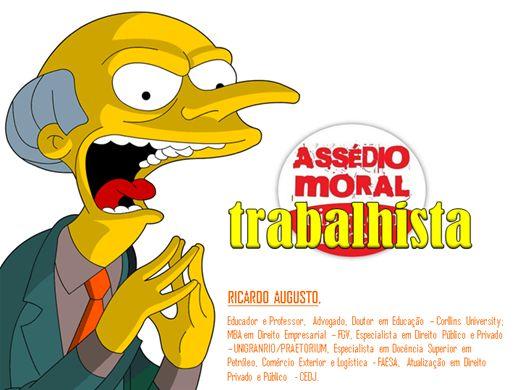 Curso Online de ASSÉDIO MORAL TRABALHISTA 2013/2014
