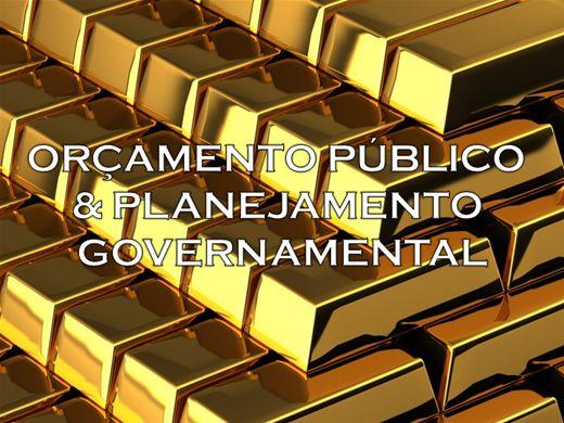 Curso Online de ORÇAMENTO PÚBLICO E GOVERNAMENTAL