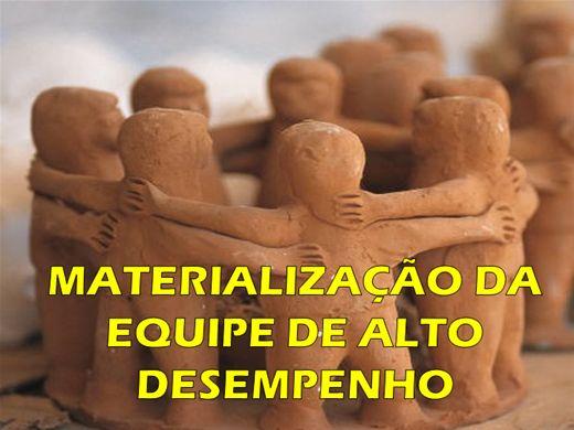 Curso Online de MATERIALIZAÇÃO DA EQUIPE DE ALTO DESEMPENHO
