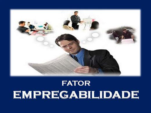 Curso Online de FATOR EMPREGABILIDADE