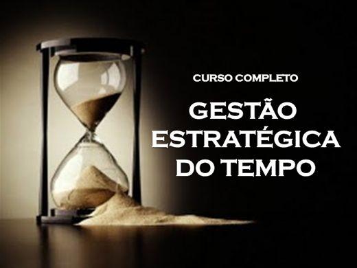Curso Online de CURSO COMPLETO DE GESTÃO ESTRATÉGICA DO TEMPO