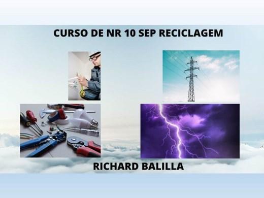 Curso Online de NR 10 SEP RECICLAGEM