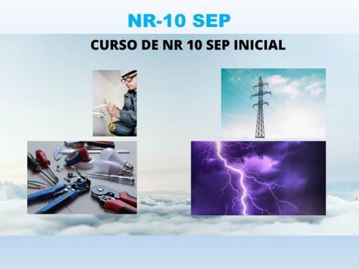 Curso Online de NR 10 SEP INICIAL