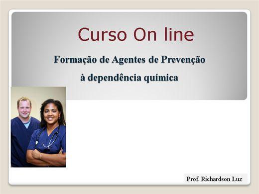 Curso Online de Formação de Agentes de Prevenção às Drogas