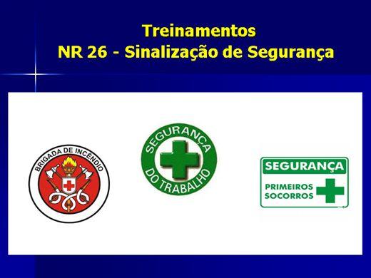 Curso Online de NR 26 - Sinalização de segurança