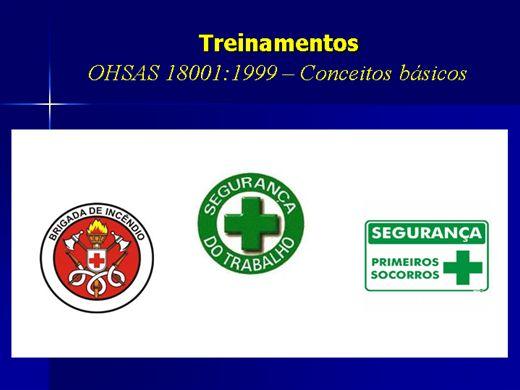 Curso Online de OHSAS - Sistema de gestão de segurança do trabalho (Conceitos básicos)