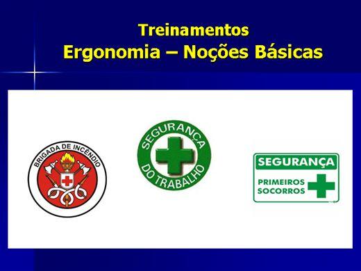 Curso Online de Ergonomia - Noções Básicas