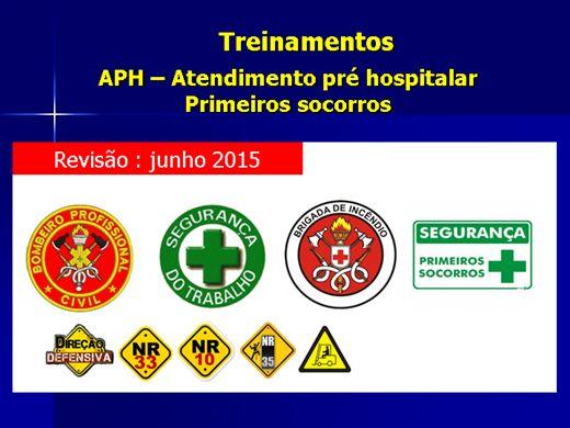 Curso Online de APH - Atendimento pré hospitalar ( técnicas de primeiros socorros)