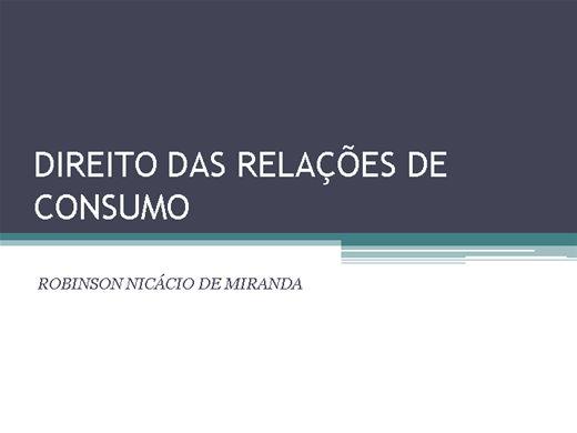 Curso Online de Direito das Relações de Consumo