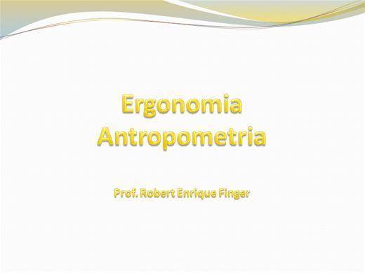 Curso Online de Ergonomia e Antropometria