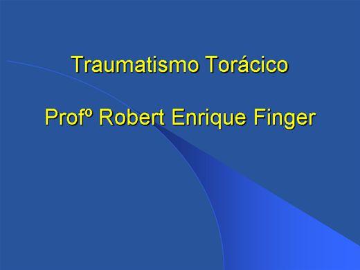 Curso Online de Traumatismo Torácico