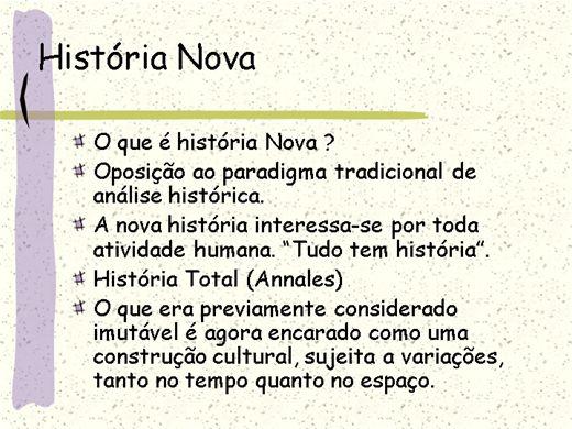 Curso Online de História Nova