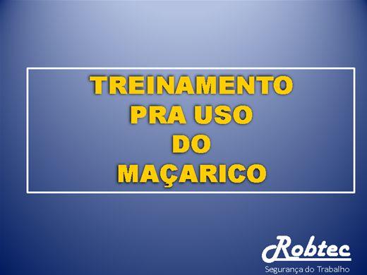 Curso Online de TREINAMENTO DE SEGURANÇA PARA O USO DO MAÇARICO