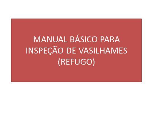 Curso Online de Manual Básico Refugo de vasilhames