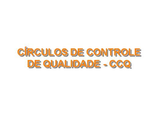 Curso Online de CCQ - Circulos de Controle de Qualidade