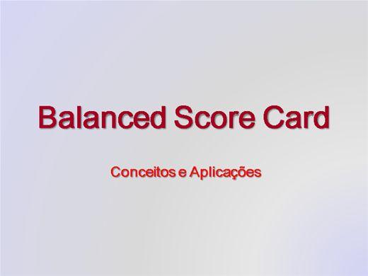 Curso Online de Balanced Score Card
