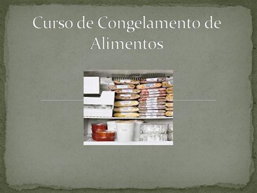 Curso Online de Curso de Congelamento de Alimentos