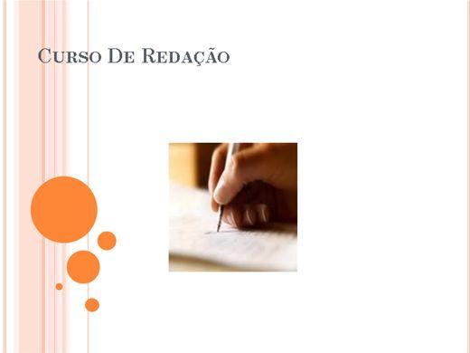 Curso Online de Curso De Redação