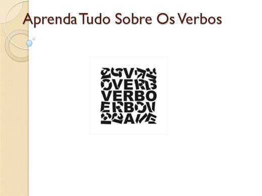 Curso Online de Aprenda Tudo Sobre Os Verbos