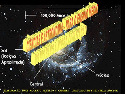 Curso Online de Ciências e Astronomia Para o Ensino Médio