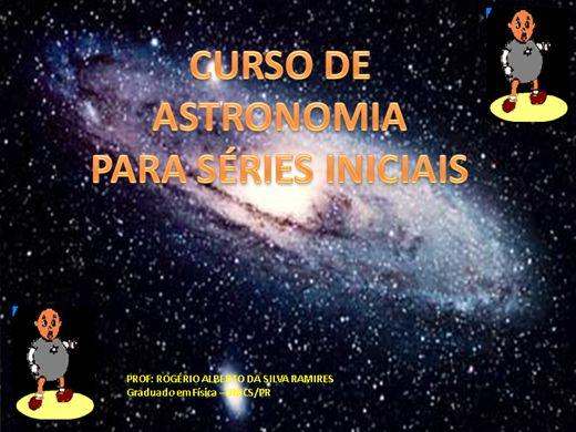Curso Online de Curso de Ciências e Astronomia Para Séries Iniciais