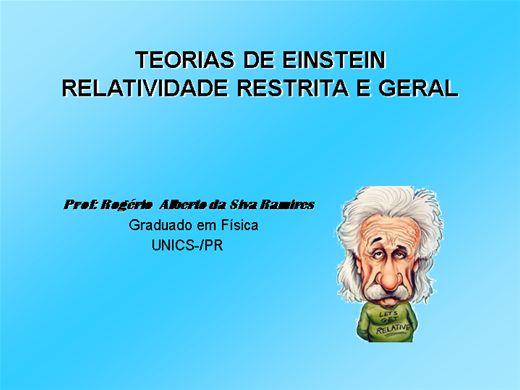 Curso Online de FÍSICA MODERNA - TEORIAS DE EINSTEIN