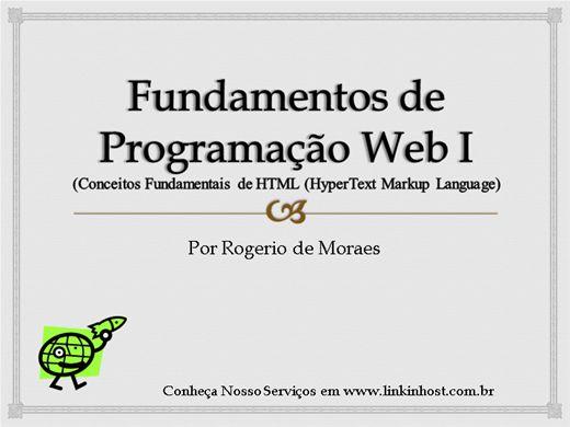 Curso Online de Fundamentos de Programação WEB I