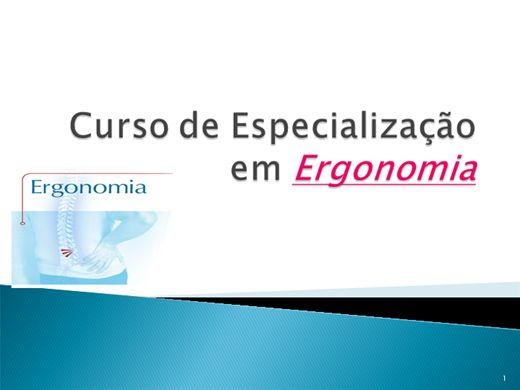 Curso Online de Curso de Ergonomia