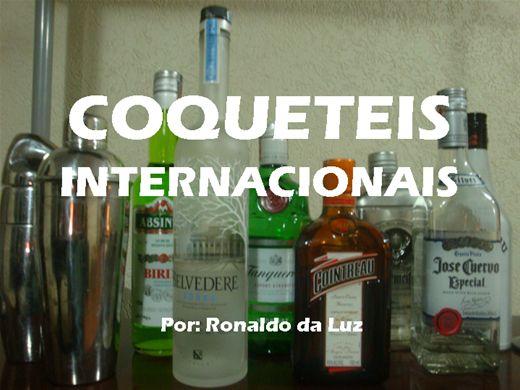 Curso Online de Cocktails internacionais