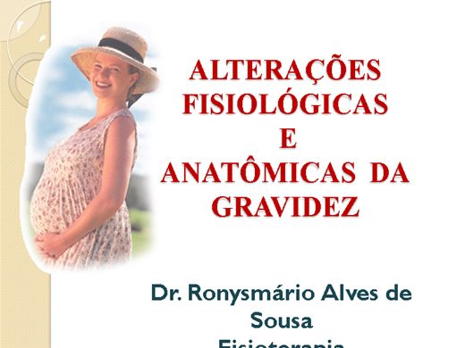 Curso Online de Alteracões fisiológicas e anatômicas na gravidez