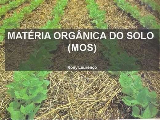Curso Online de Matéria Orgânica no Solo  (MOS)