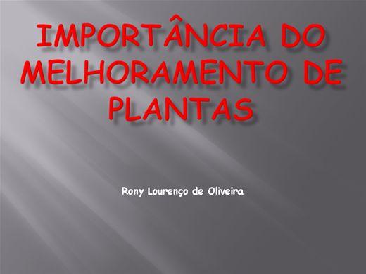 Curso Online de Importância do Melhoramento de Plantas