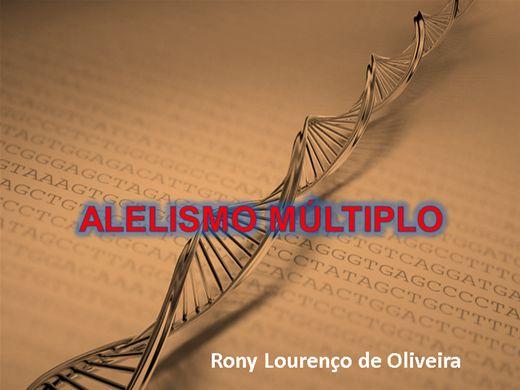 Curso Online de ALELISMO MÚLTIPLO