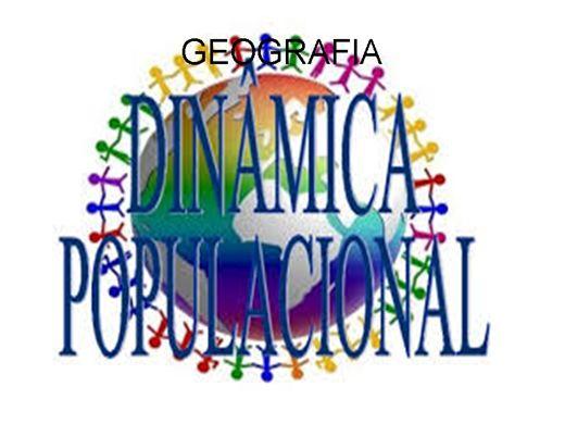 Curso Online de DINÂMICA POPULACIONAL: a demografia nos países desenvolvidos e subdesenvolvidos