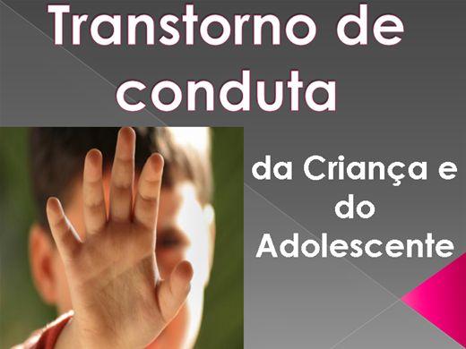 Curso Online de Transtorno de conduta da Criança e do Adolescente