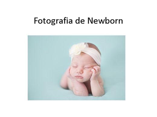 Curso Online de Fotografia de newborn