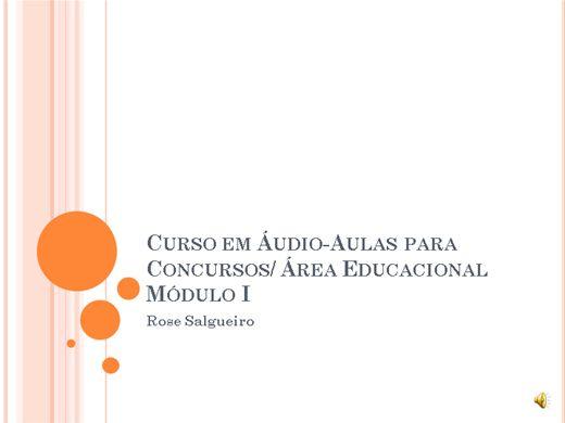 Curso Online de Curso para Concursos - Área Educacional/ Todos os cargos
