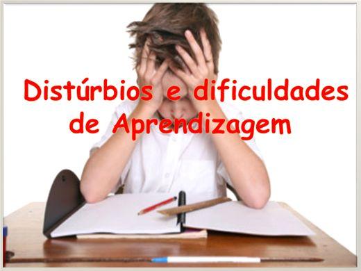 Curso Online de Distúrbios e dificuldades de Aprendizagem