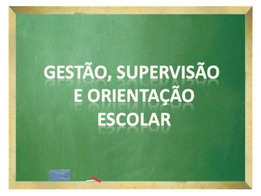 Curso Online de Gestão, Supervisão e Orientação Escolar