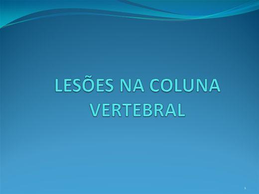 Curso Online de LESÕES NA COLUNA VERTEBRAL