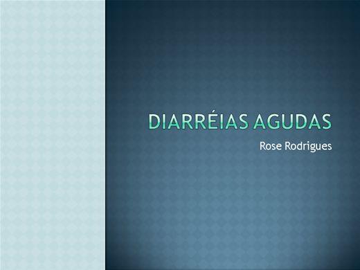 Curso Online de Diarreias Agudas