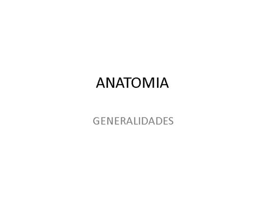 Curso Online de ANATOMIA RADIOLÓGICA - GENERALIDADES