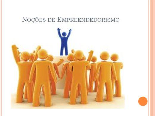 Curso Online de Noçoes de empreendedorismo