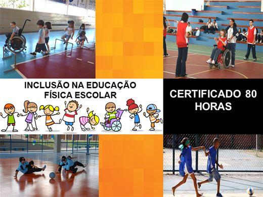 Curso Online de INCLUSÃO NA EDUCAÇÃO FÍSICA ESCOLAR